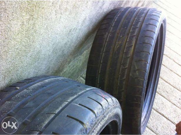 Vendo 2 pneus continental contisportcontact 3 em 235/40r18