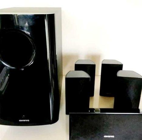 ONKYO 5.1 surround sound speakers