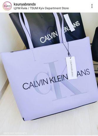 Calvin Klein jeans сумка оригинал лиловая