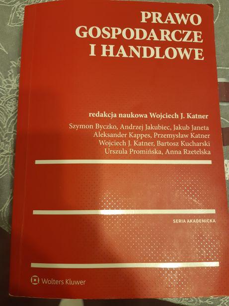 Prawo gospodarcze i handlowe Wojciech Katner