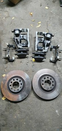 Свап комплект передних тормозов ATE 320 мм от Audi A6