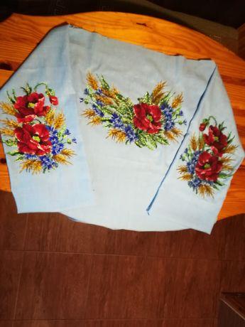 Вишита чешським бісером блуза (заготовка)