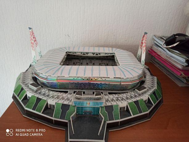 Stadion Juventus Turyn puzlle 3D