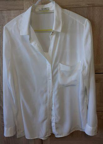 Bluzeczka damska biel wełny BERSHEKA rozm.L