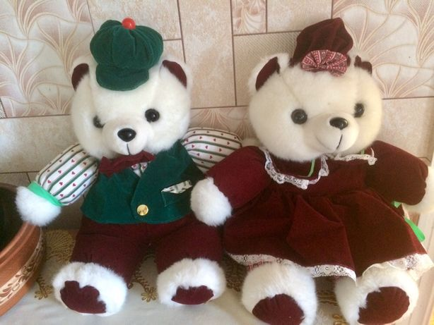 Медведи большая мягкая игрушка
