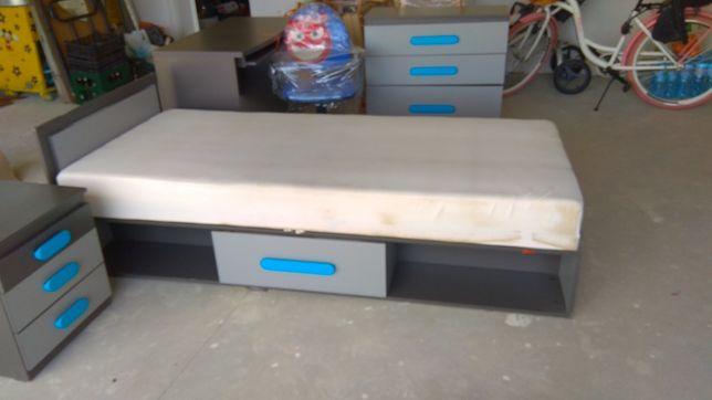 Łóżko z pojemnikiem 90/200cm z Agata meble 6-cio miesięczne