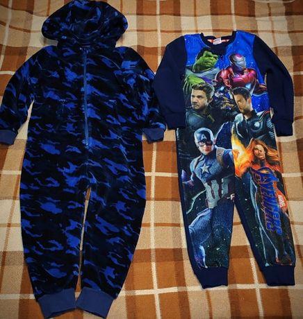 Кигуруми человечек костюм для дома сна пижама 4-6л.