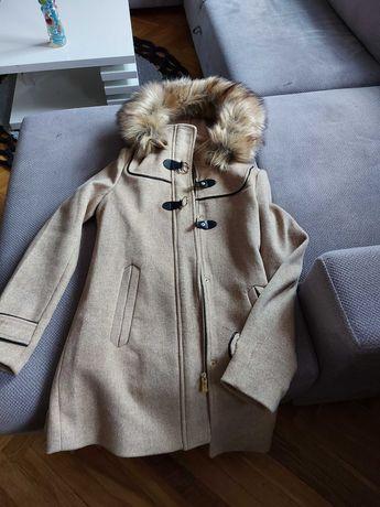 Płaszcz zimowy ocieplany