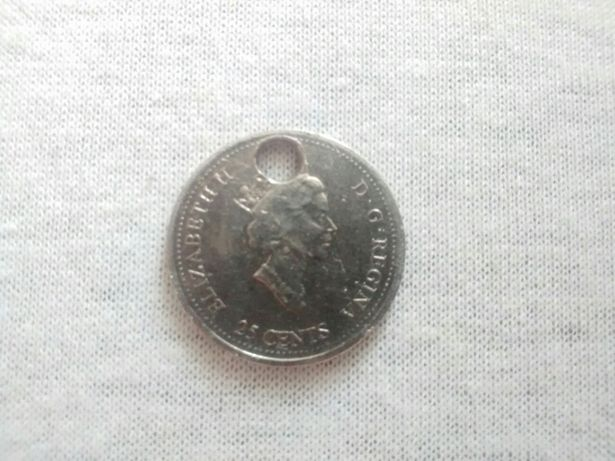 Монета 25 центов (Канада)