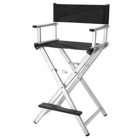 Cadeira de maquilhagem de alumínio NOVAS **PORTES GRÁTIS**