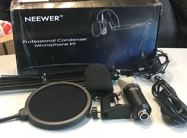 Профессиональный конденсаторный микрофон со стойкой Neewer NW-700