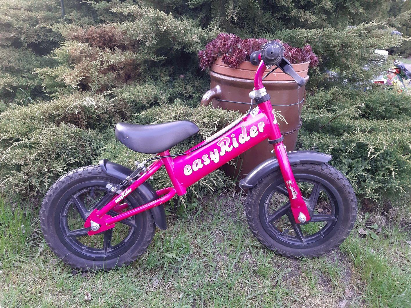 Rowerek biegowy, różowy