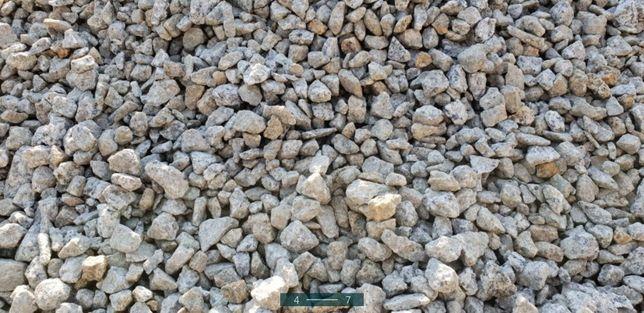 Kamien granitowy fr 8-16 , ozdobny do ogrodu, na utwardzenie terenu .