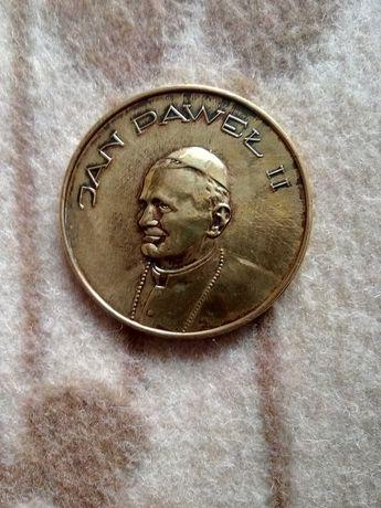 Medal Jan Paweł II 600 lat na Jasnej Górze