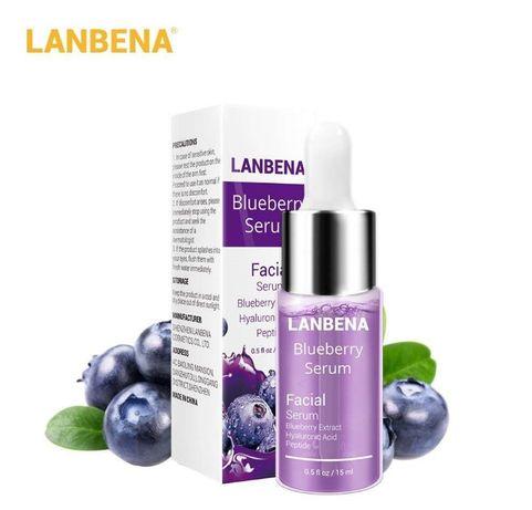 Сыворотка LANBENA с гиалуроновой кислотой+пептиды+экстракт черники