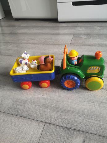 Traktor ze zwierzątkami
