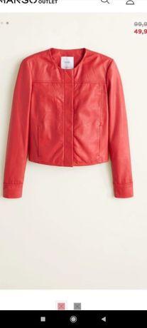 Куртка Маngo Натуральная кожа