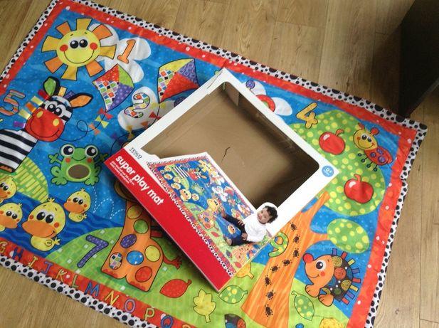 Mata podłogowa do zabawy dla dziecka