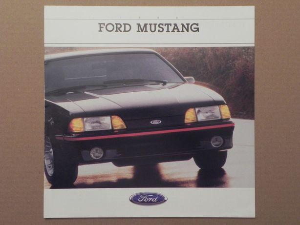 Prospekt - FORD MUSTANG - 1988 r