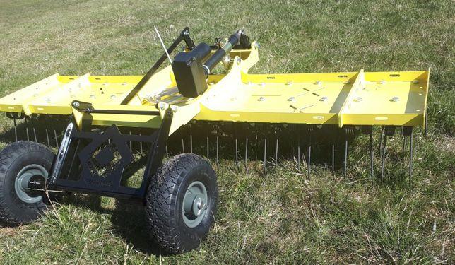 Do traktorka kosiarki Wertykulator, aerator, brona sprężynowa, grabie