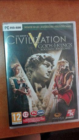 Civilization V Gods + Kings -Dodatek do gry