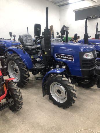 міні трактор ДТЗ 5244НР +антифриз+доставка