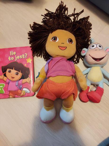 Dora i Gutek- maskotki oraz książeczka