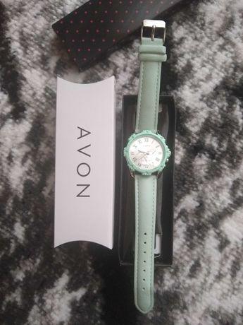 Zegarek damski Avon dinni miętowy nowy