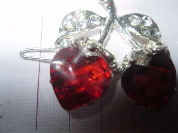 набор= 5 штук детские заколки жабки цветы ягоды зажимы шпильки камни