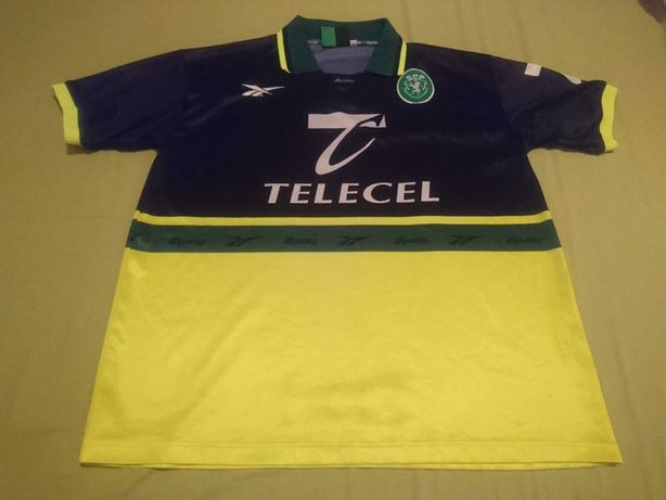 Camisola Sporting reebok 1998/99 Fora M