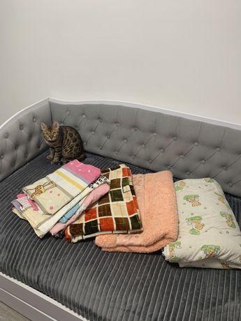 Детское постельное белье два одеяла плед. Цена за всё!!!