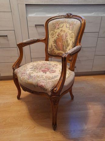 Krzesło Fotel Ludwik Antyk