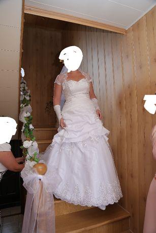 suknia ślubna rozm 40,42,44 śliczna !