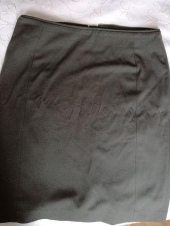 Spódnica H&M rozmiar 42, kolor khaki