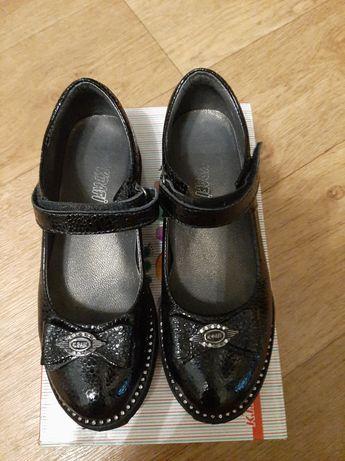 Продам кожаные туфли k.pafi 34р состояние новых