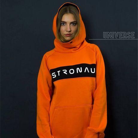Худи/Толстовка ASTRONAUT Universe orange
