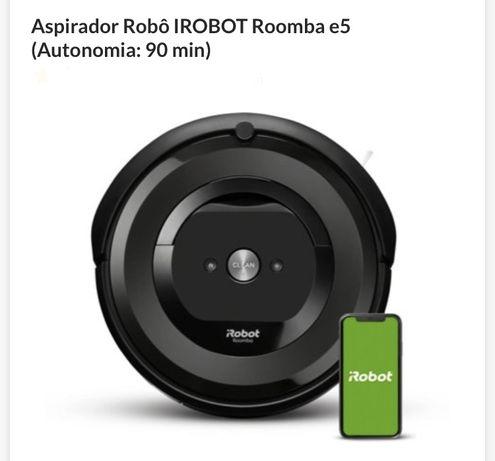iRobot Roomba E5 - aspirador robot como novo