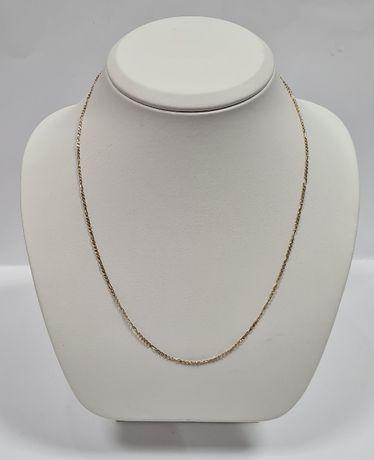 Złoty Łańcuszek FIGARO 2,98 GRAMA, P 585, 50 CM