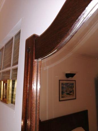 Espelho de Madeira Natural - estilo clássico