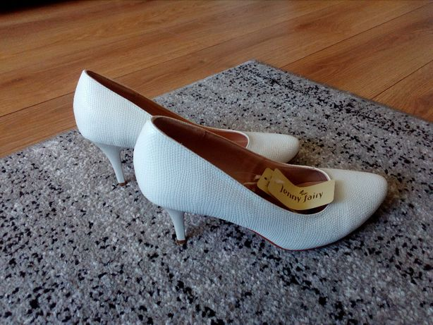 buty ślubne z metką
