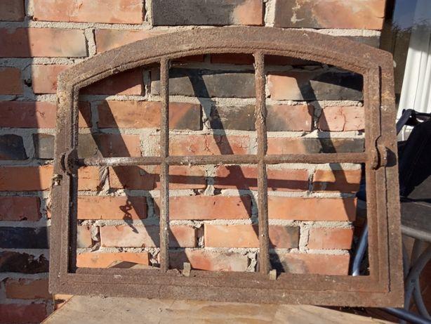 Okno okna żeliwne 69cm / 55cm wys