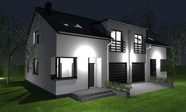Nowy dom na Miedzyniu, przy lesie! Wykończony pod klucz!!