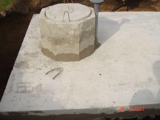 Zbiornik betonowy na szambo,zbiorniki na deszczówkę.Szamba betonowe.
