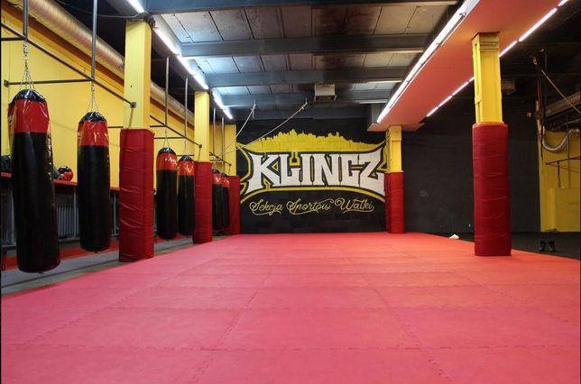 Sala mata treningi sporty walki boks karate judo mma fitness joga