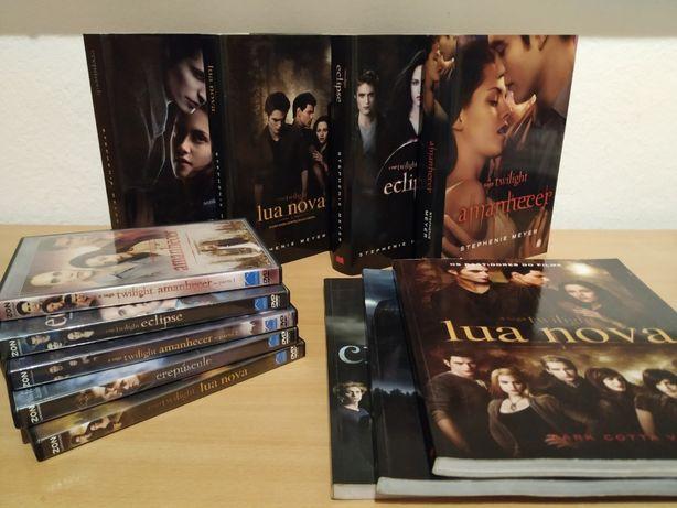 Saga TWILIGHT Colecção - Livros/DVD/Bastidores