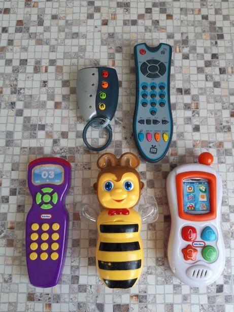 Детский телефон, пульт ТВ, сигнализация авто