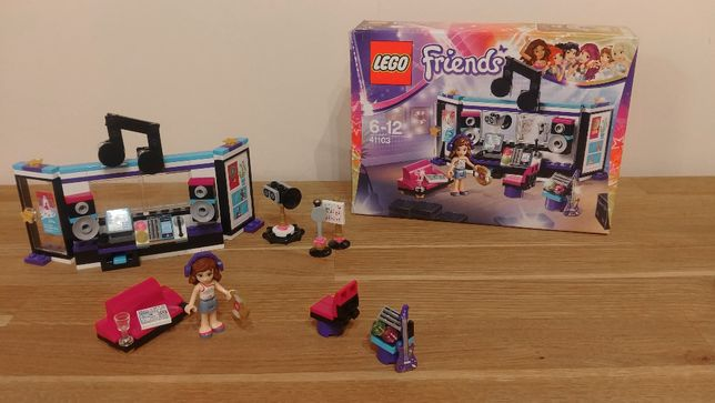 LEGO friends studio nagrań gwiazdy pop 41103