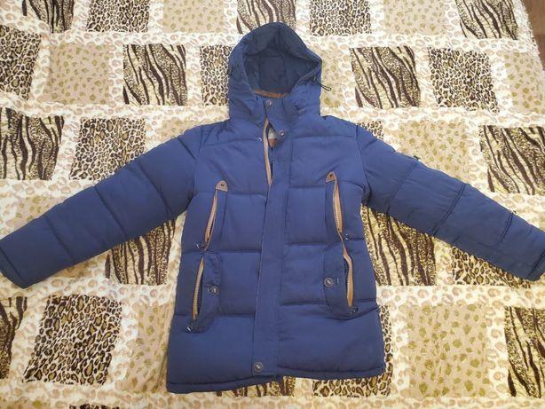 Зима,куртка мужская теплая