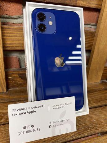 Apple iPhone 12 Blue 64/128/256gb! НОВЫЙ! Гарантия от МАГАЗИНА!