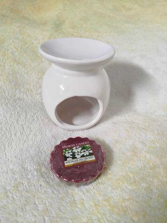 Kominek ceramiczny i wosk yankee candle